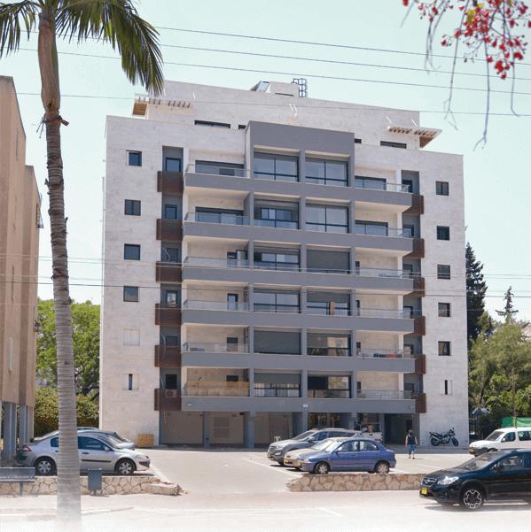 דירות למכירה בקרן היסוד רעננה - קדמת הבניין